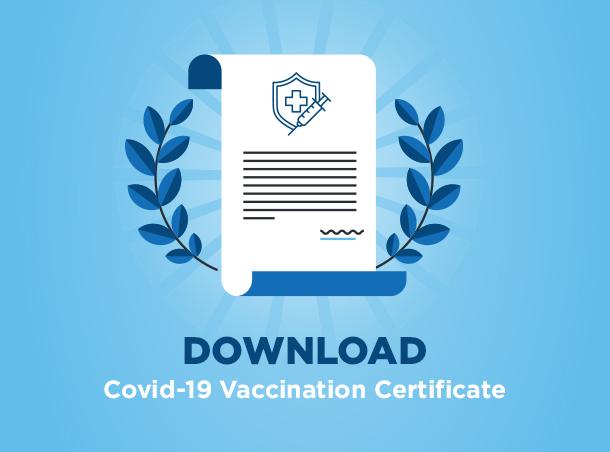 Download Covid-19 vaccination Certificate