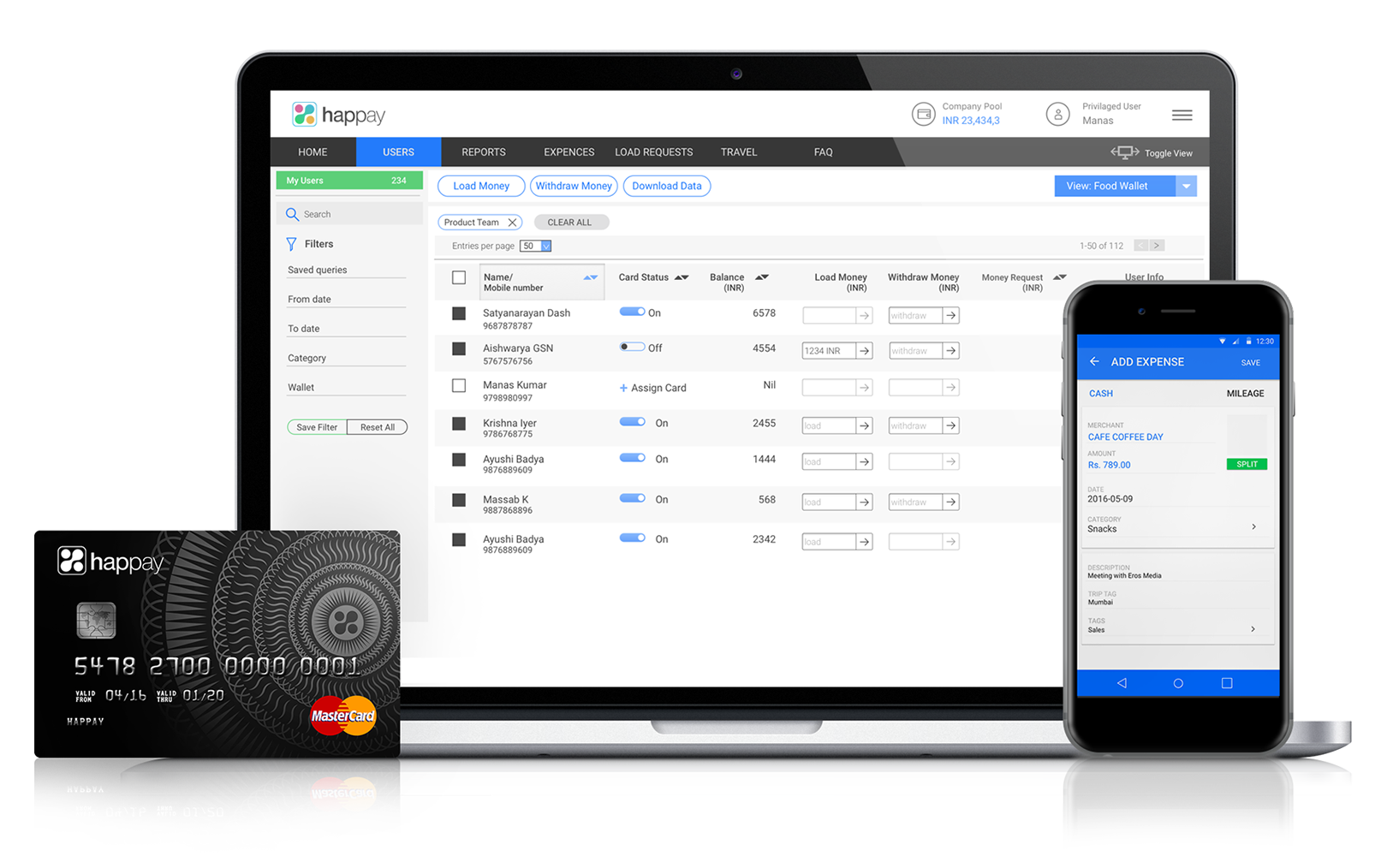 Intuitive Expense Management Solution - Happay