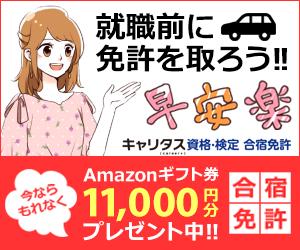 合宿免許【キャリタス】