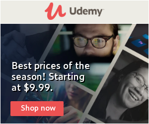 Upgrade your skills with Udemy courses at $9.99!