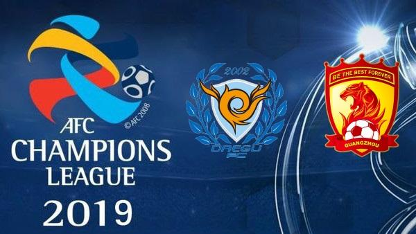 Guangzhou Evergrande vs Daegu – Soi kèo bóng đá 17h00 ngày 22/5/2019