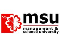 MANAGEMENT AND SCIENCE UNIVERSITY (MSU) logo