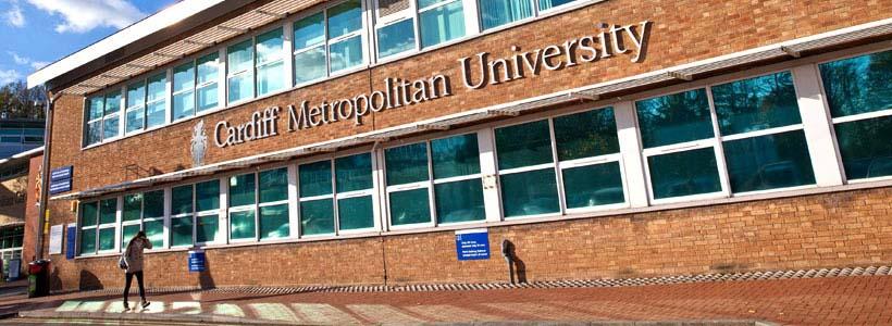 Cardiff Metropolitan University banner