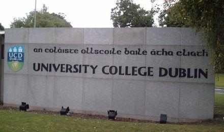 University College Dublin banner
