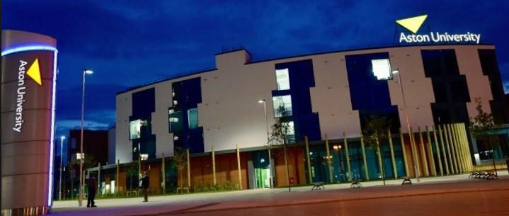 Aston University banner
