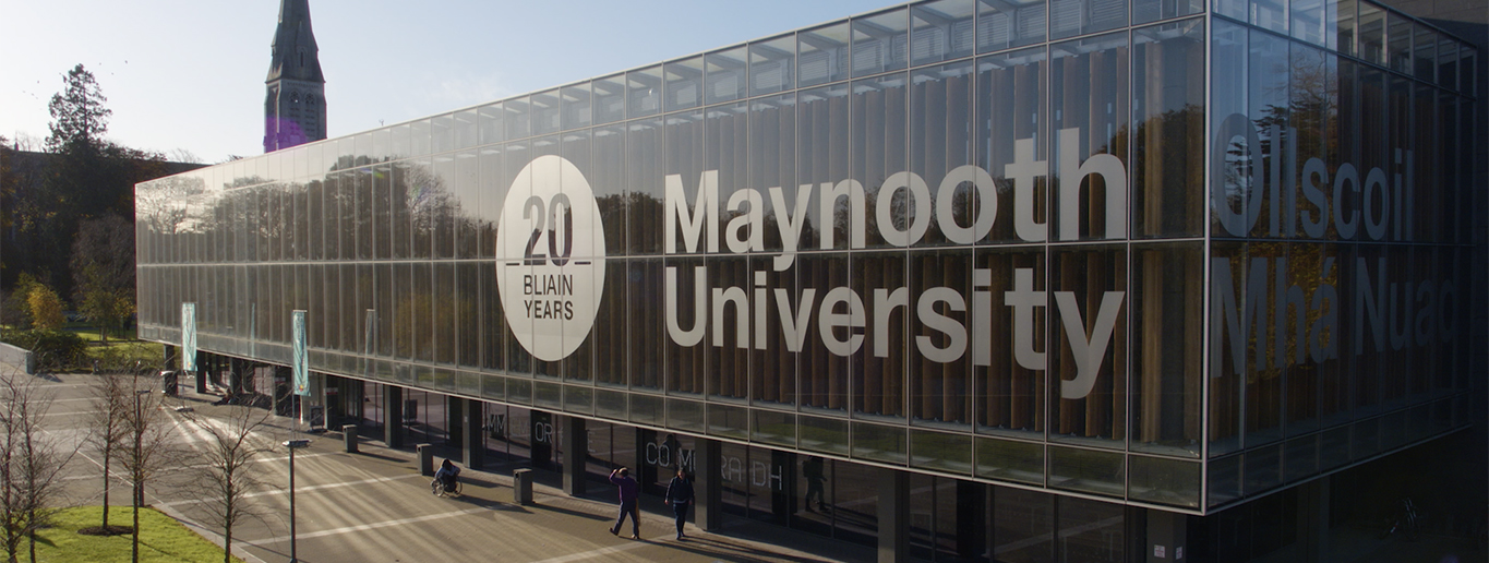 Maynooth University banner
