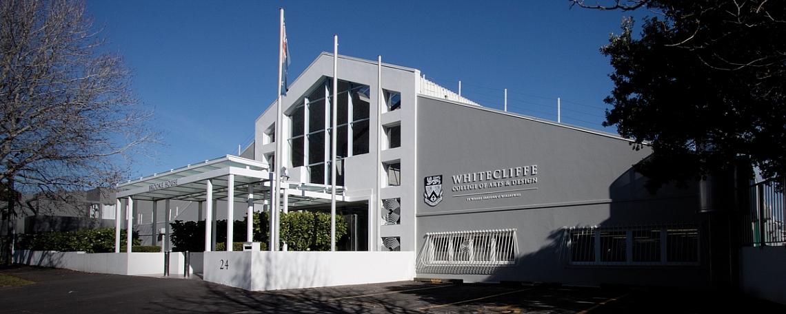 Whitecliffe College banner