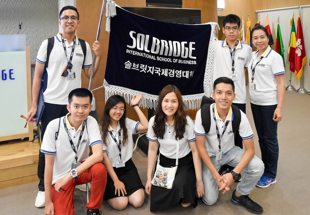 SolBridge International School of Business banner