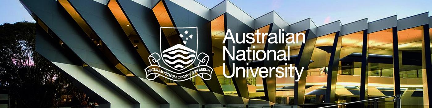 Australian National University banner