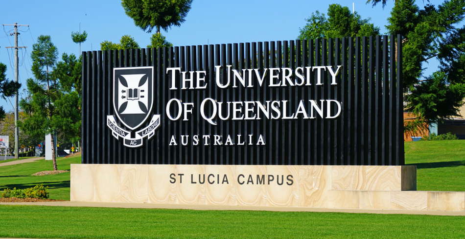 The University of Queensland banner