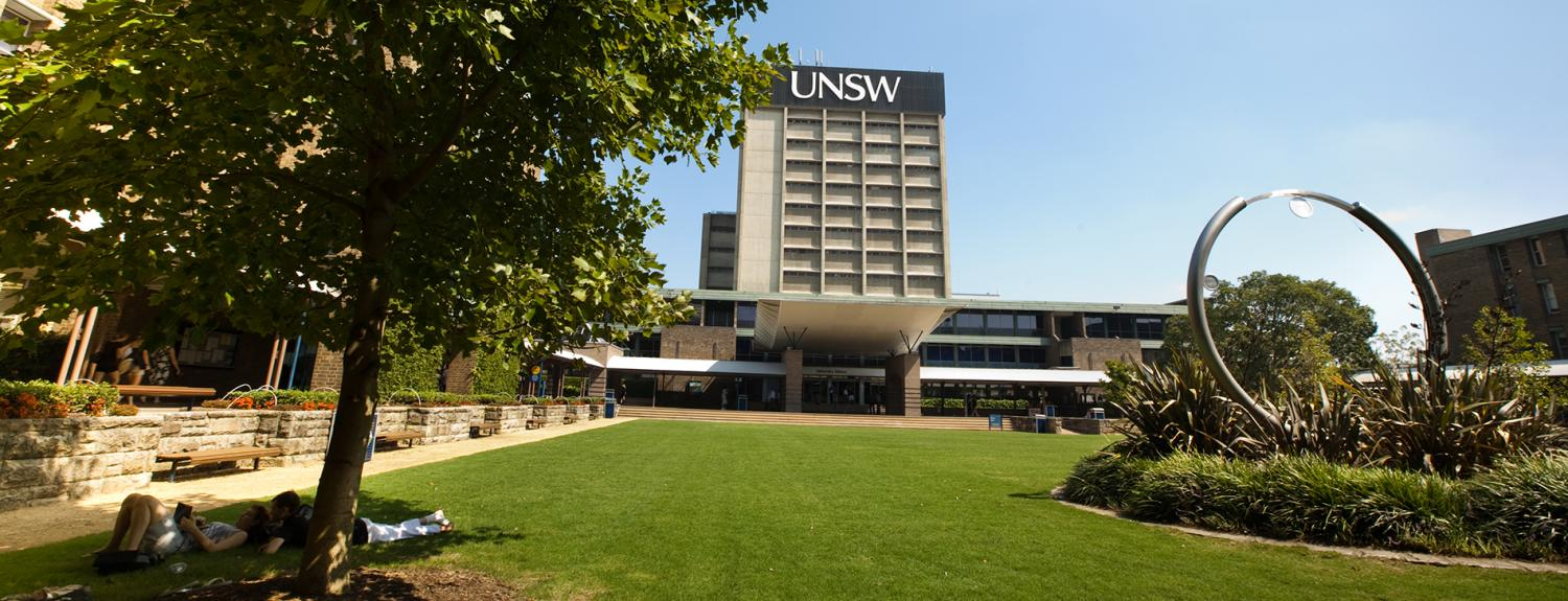 The University of New South Wales banner