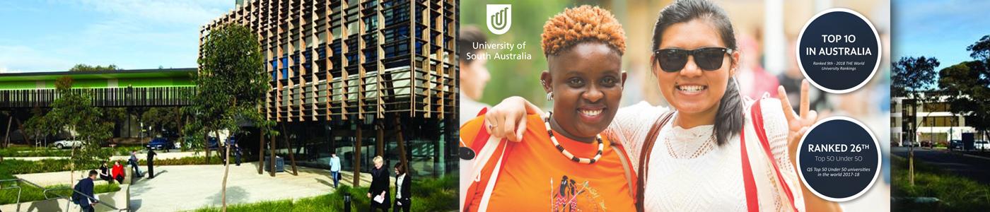 University of South Australia (UNISA) banner