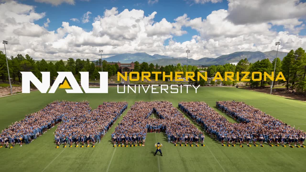 Northern Arizona University banner