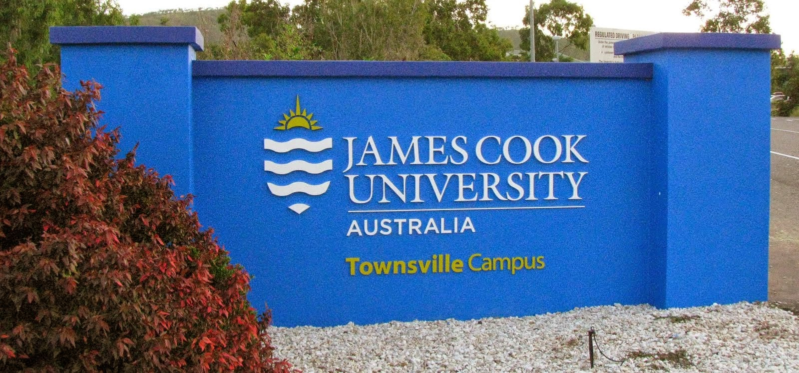 James Cook University banner