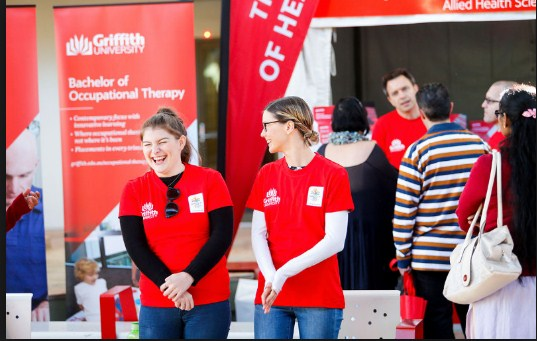 Griffith University banner