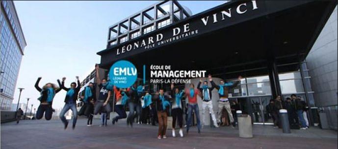 Leonard de Vinci School of Management banner