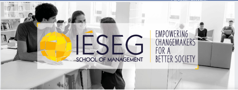 IESEG School of Management banner