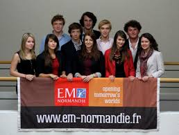 EM Normandie Business School banner