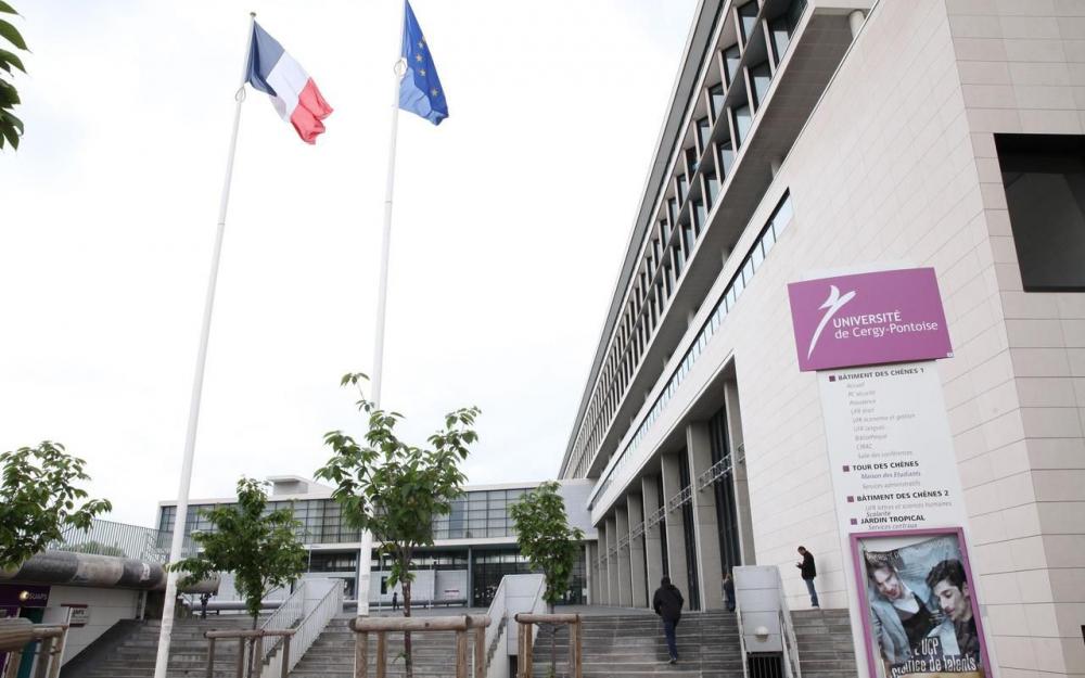 Cergy-Pontoise University banner