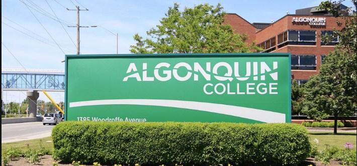 Algonquin College banner