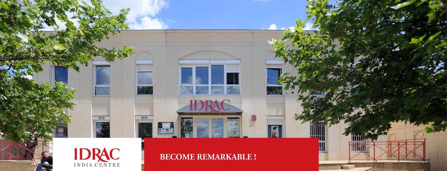IDRAC Business School banner