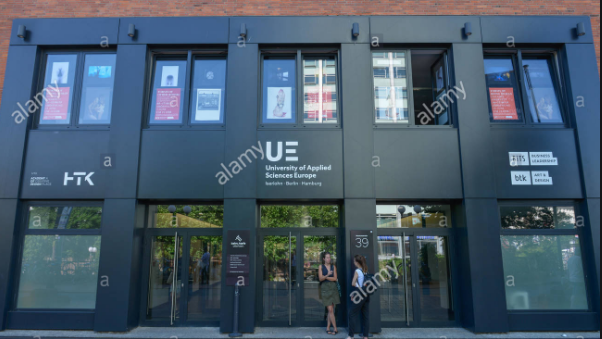 University of Applied Sciences Europe banner