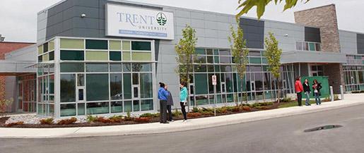 Trent University banner