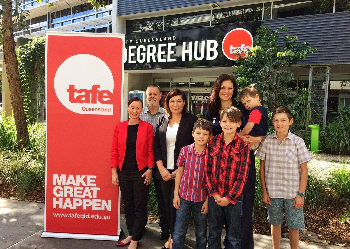 TAFE Queensland banner