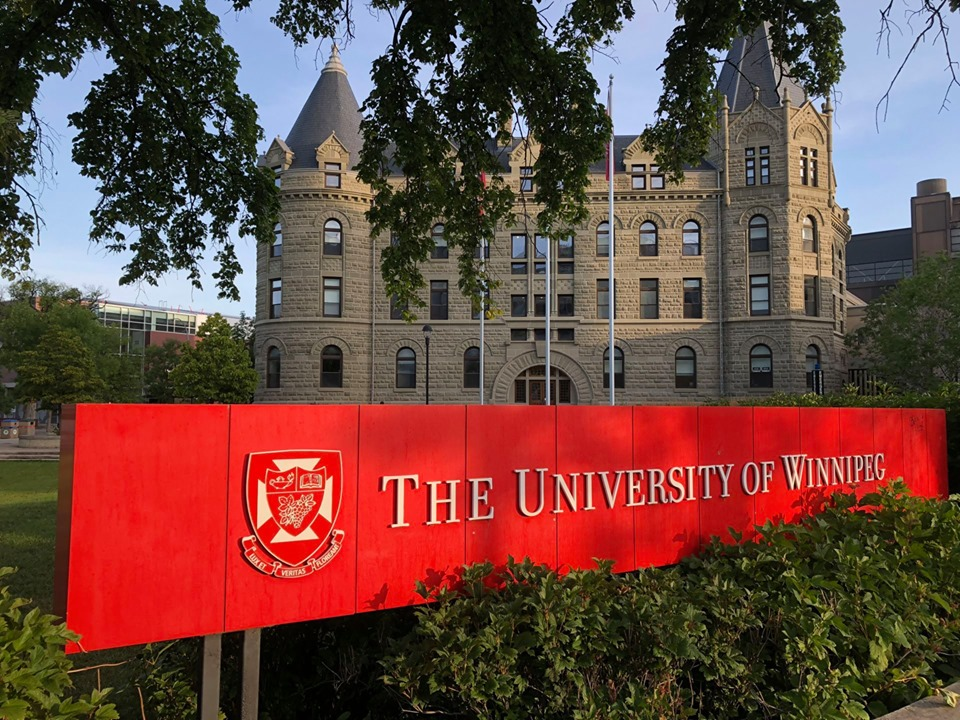 The University of Winnipeg banner