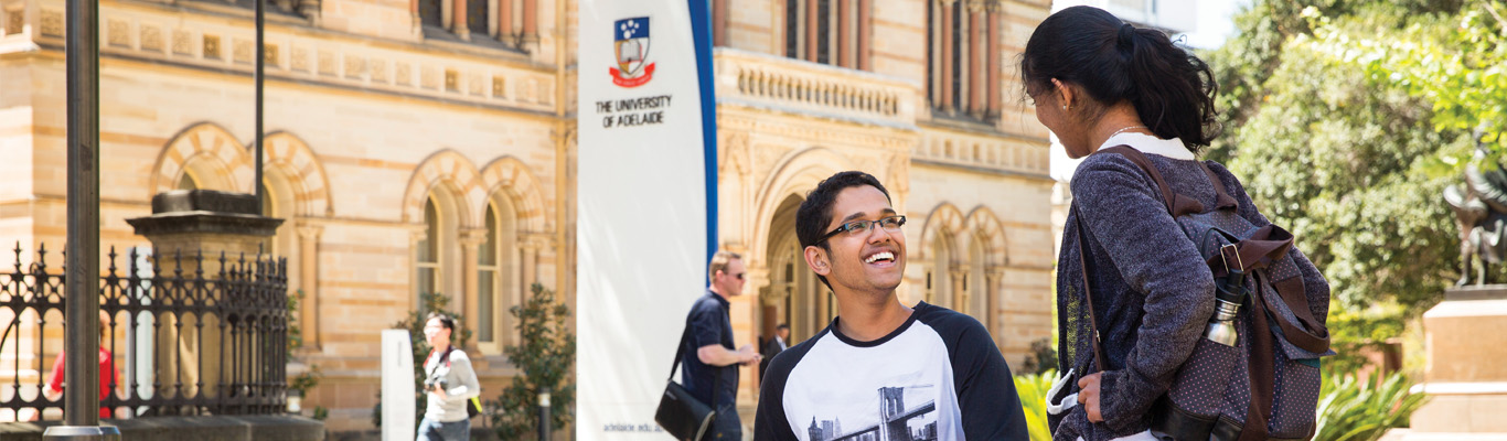 University of Adelaide College banner