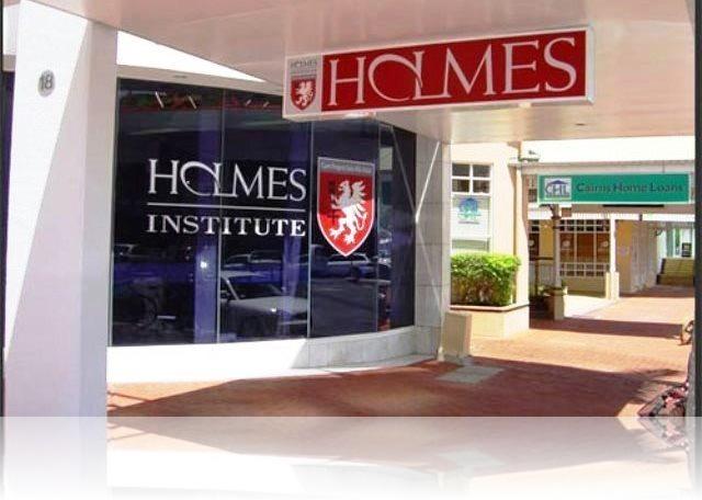 Holmes Institute banner