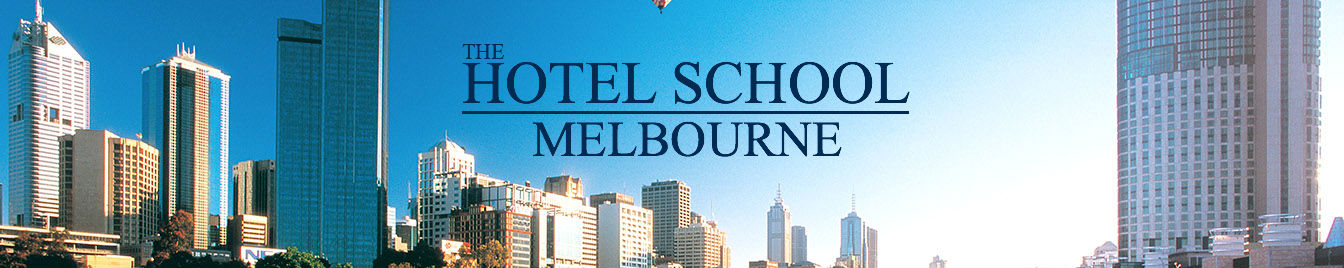 The Hotel School Sydney and Melbourne banner
