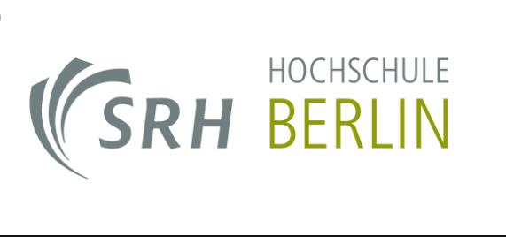 SRH Hochschule Berlin banner