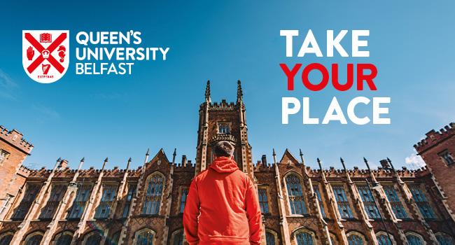 Queen's University Belfast banner