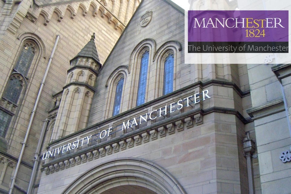The University of Manchester banner