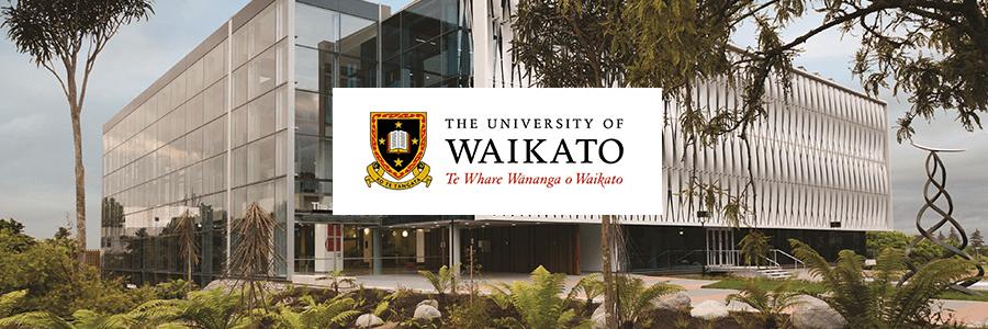 University of Waikato banner