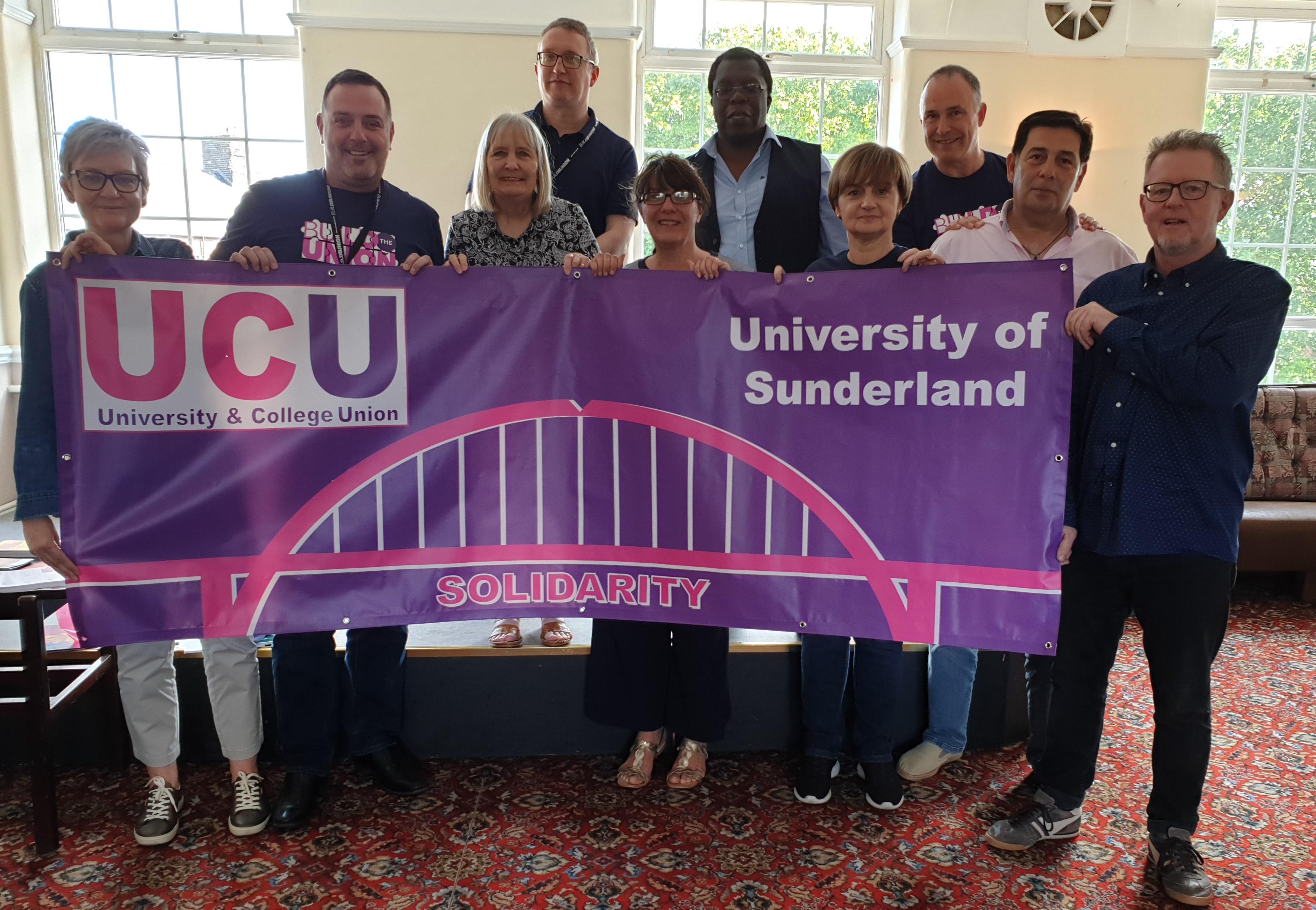 University of Sunderland banner