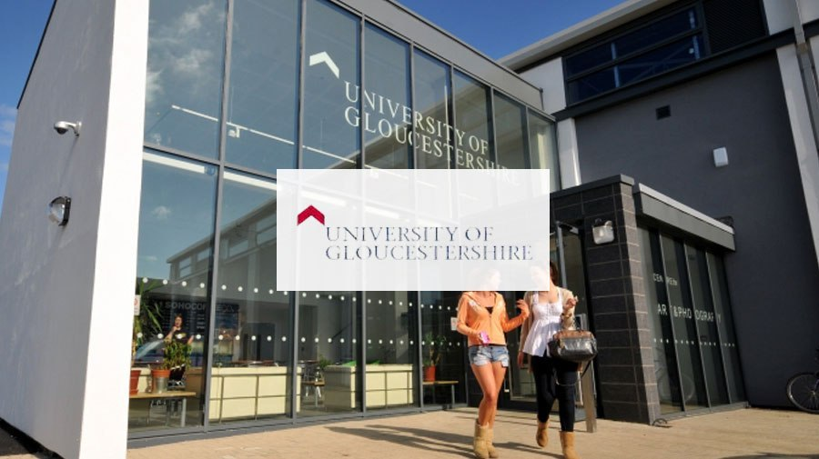 University of Gloucestershire banner