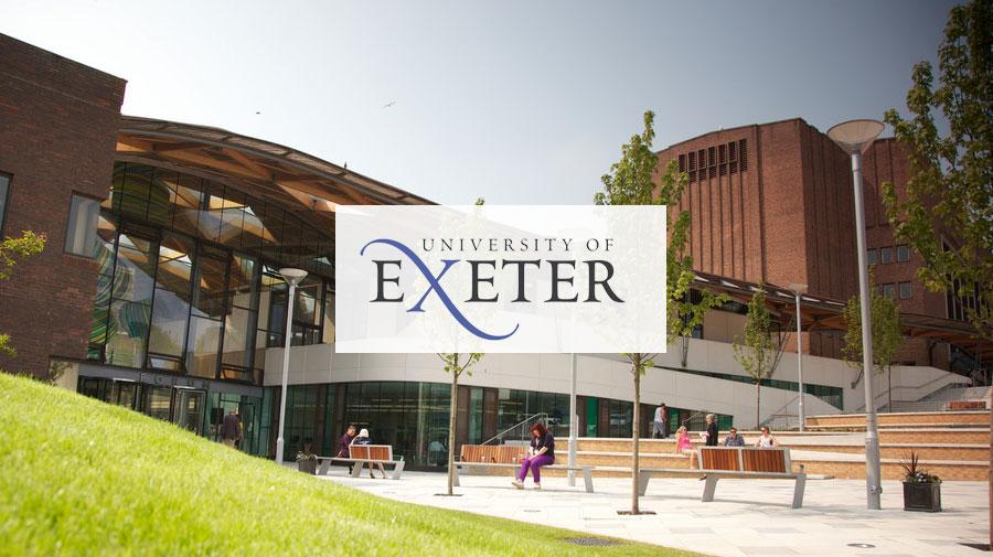 University of Exeter banner