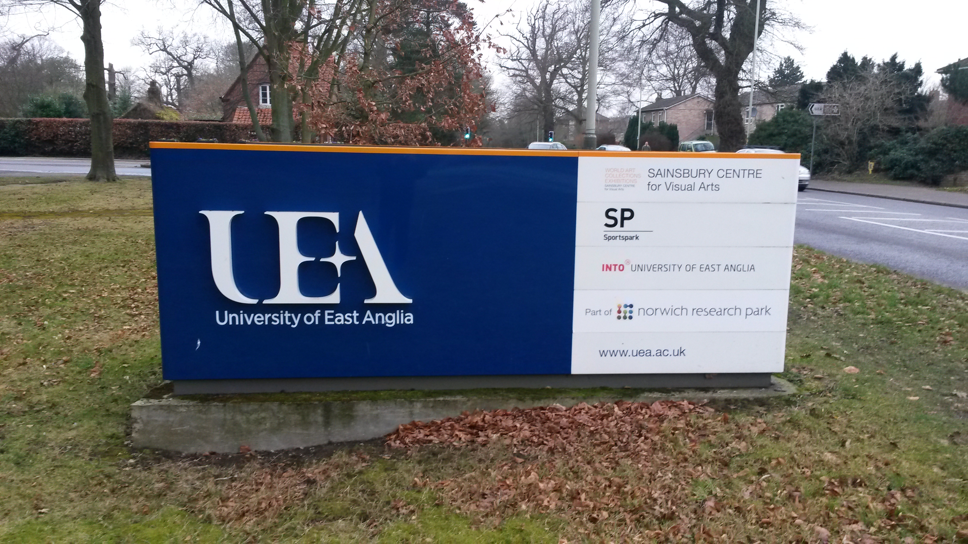 University of East Anglia banner