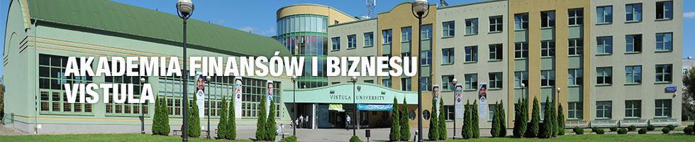 Vistula University banner