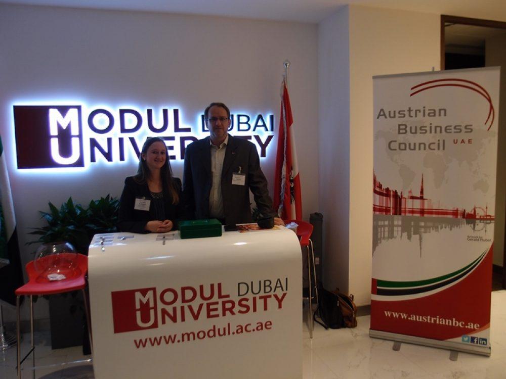 Modul University Dubai banner