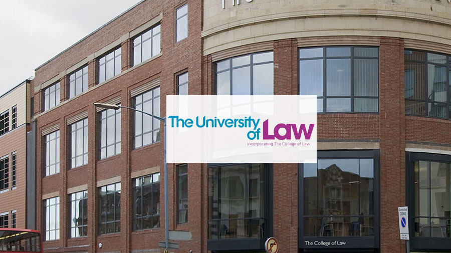 The University of Law (Birmingham Campus) banner
