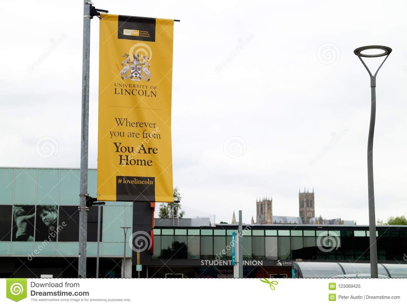 University of Lincoln banner
