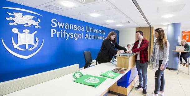 SWANSEA UNIVERSITY banner