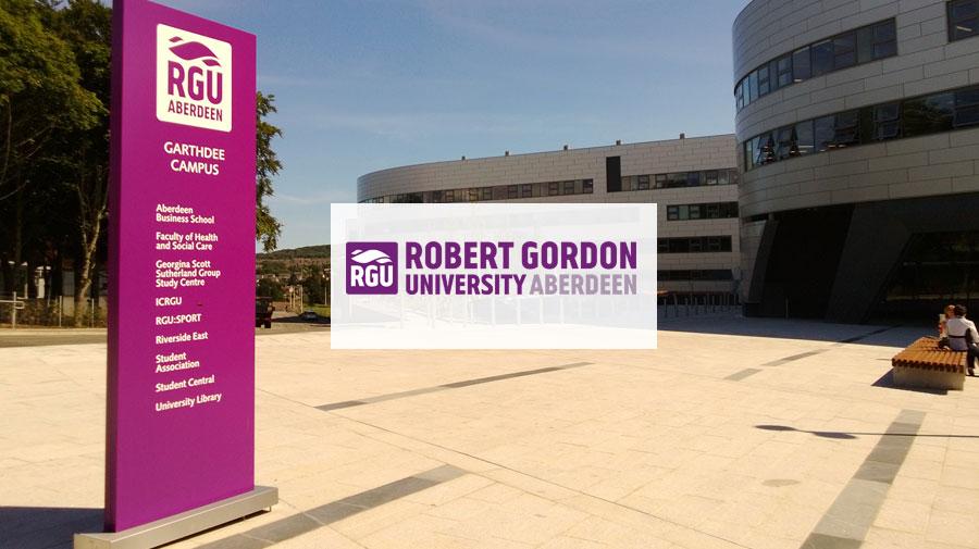 Robert Gordon University banner