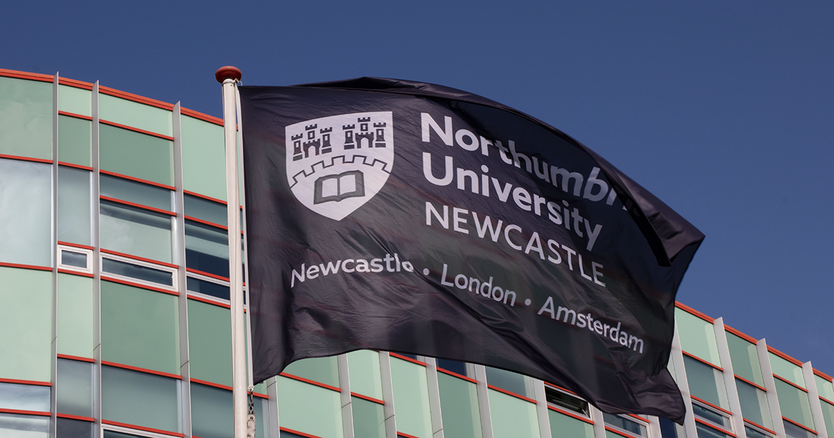 Northumbria University banner