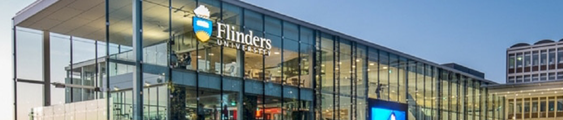 Flinders University banner