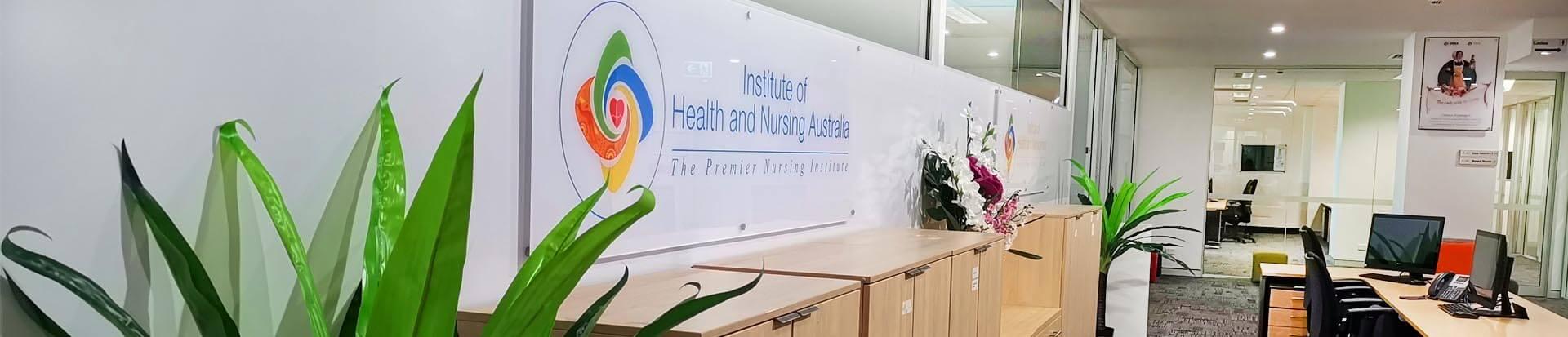Institute of Health and Nursing Australia (IHNA) banner