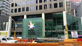 Media Design School banner